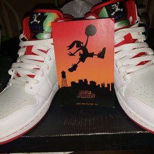 Jordan Shoes Air 1 Bugs Bunny Hare Poshmark